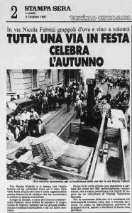 festa dell'uva 1987
