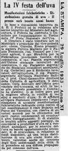torino festa dell'uva 1933