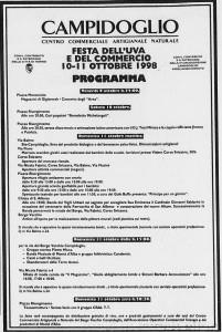 via fabrizi festa dell'uva 1998