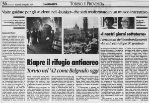 la stampa borgo campidoglio rifugio antiaereo 1999 1