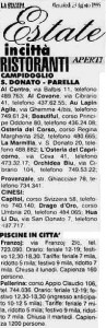 estate in città la stampa 1995 circ 4