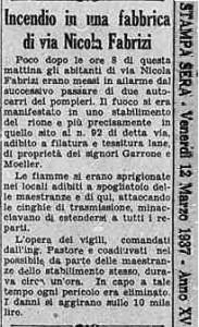 la stampa 1937 via fabrizi
