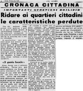la stampa 1949