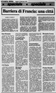 la stampa borgo campidoglio 1978