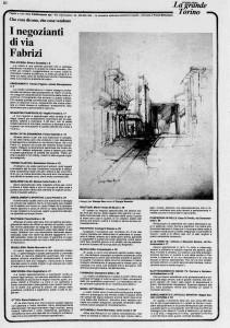 la stampa borgo campidoglio  i negozianti di via fabrizi 1980