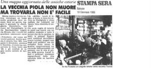 la stampa borgo campidoglio piole 18011986