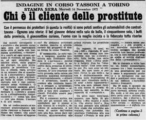 la stampa cso tassoni prostituzione 1972 p1