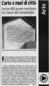 la stampa mau carlo giuliano 2001