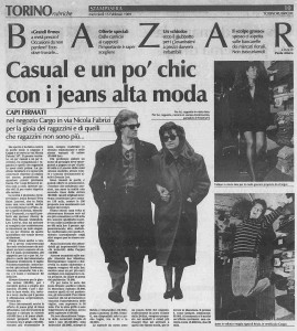 la stampa negozio gargo via fabrizi 1989