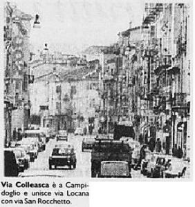 via colleasca anni 1970