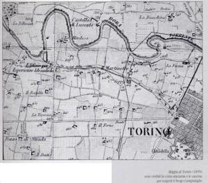 borgo mappa 1855