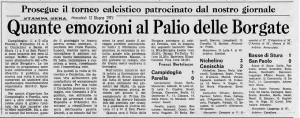 palio borgate 1974