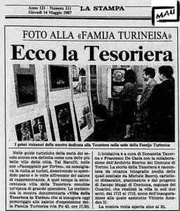la stampa 1987