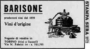 barisone biglietto da visita 1972