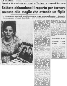 la stampa borgo campidoglio 1970
