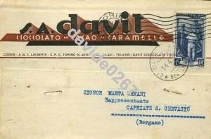 davit telegramma 1951f