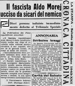 il fascista aldo morej 1943