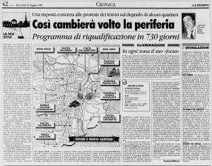 la stampa borgo 1996