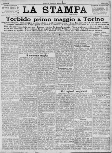 la stampa 3 maggio 1920