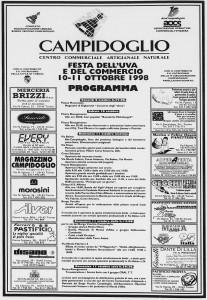 la stampa festa dell'uva 1998