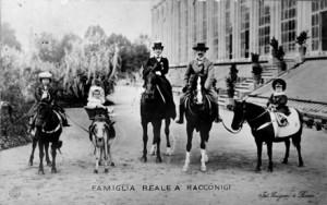 1901, Vittorio Emanuele III ed Elena di Savoia tornano a Racconigi per lunghi soggiorni estivi.