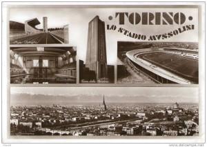Stadio Comunale (già Mussolini), Via Filadelfia, Corso Sebastopoli, Corso Quattro Novembre