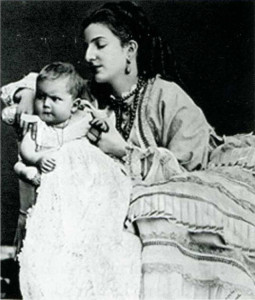 La Regina Margherita e il Piccolo Vittorio Emanuele