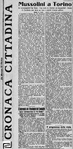 LA STAMPA 1923