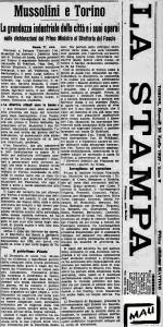 LA STAMPA 1927