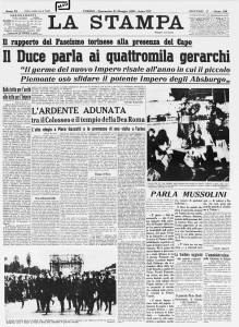 LA STAMPA 1936