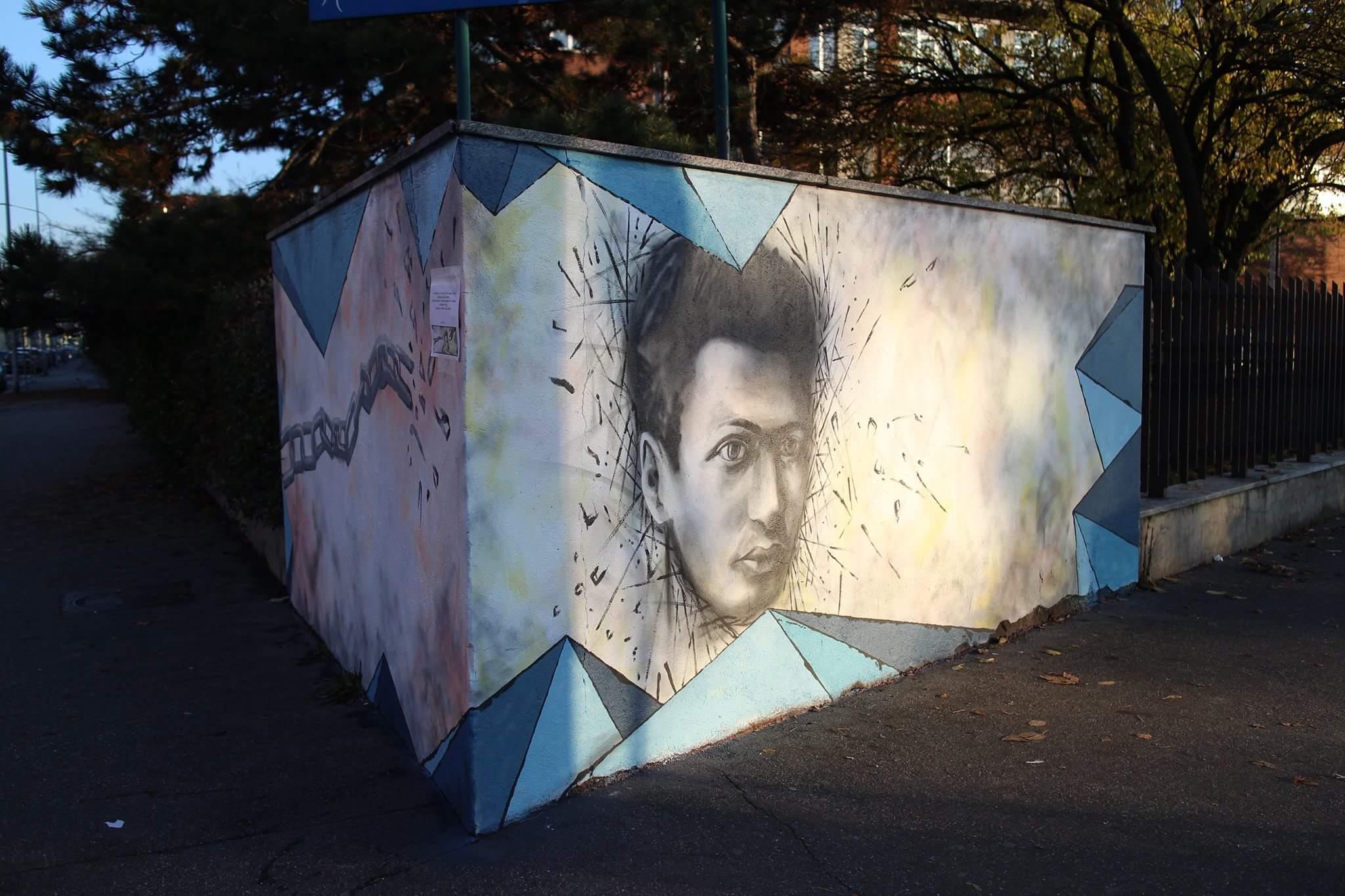 Il volto di Emanuele Artom
