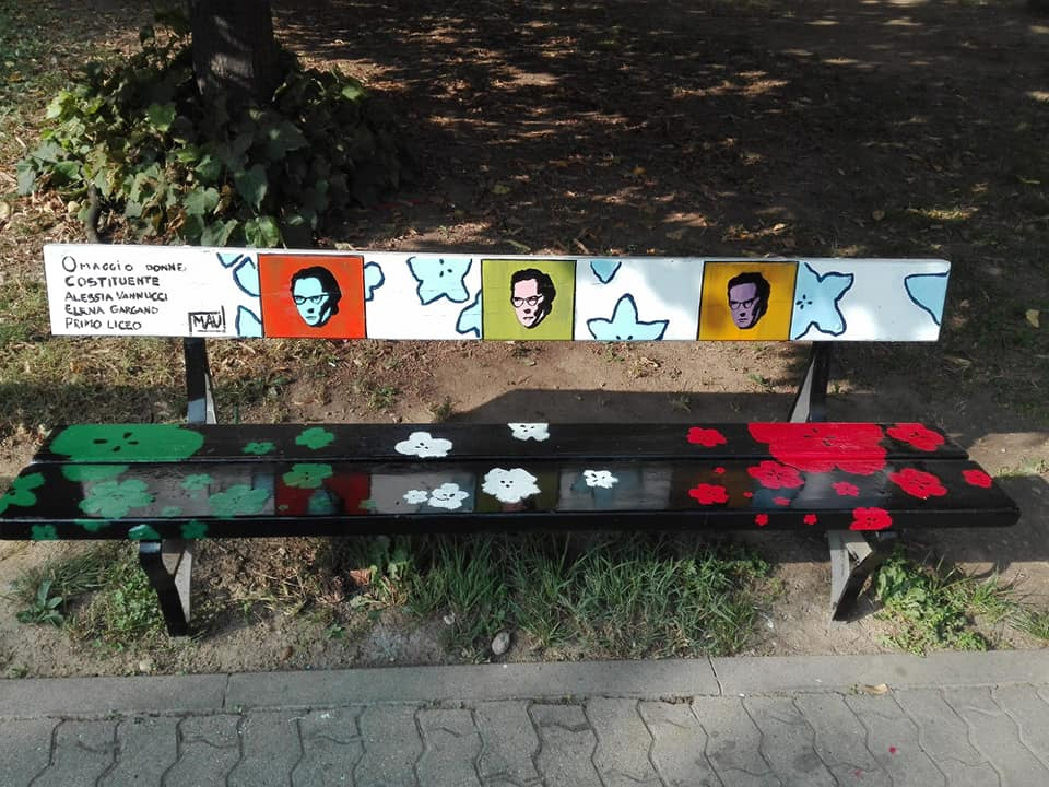 Giardini di Piazza Chiaves Donne della Costituente1