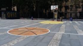 Playground di streetbasket in Piazza Albarello